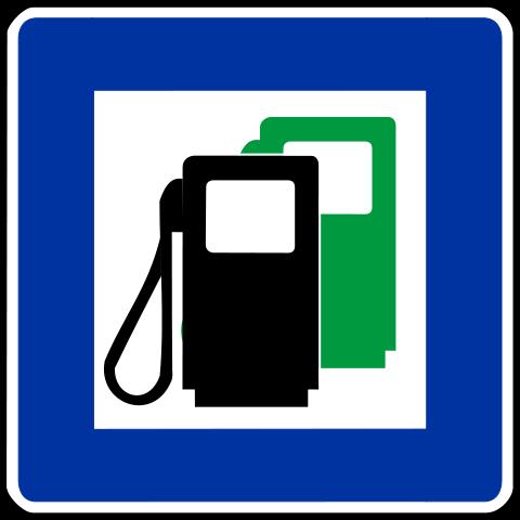 mit neutralem Tankstellendruck