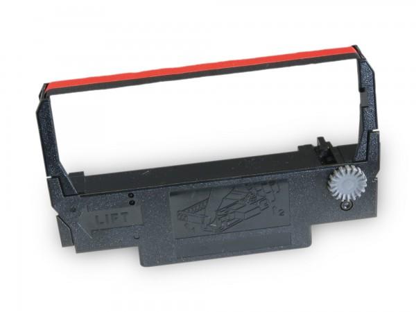 Farbbandkassette Multidata SRP-275 KARO original [schwarz / rot]