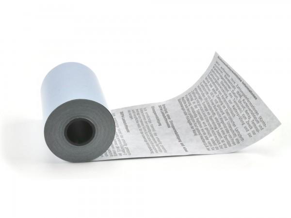 BLUE4EST® EC Cash Thermorolle mit SEPA Text - 57/35 - 14m - ohne chemische Entwickler