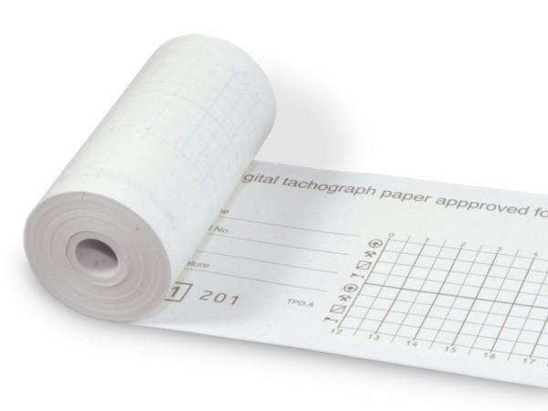 Thermorollen für digitale Tachographen / Fahrtenschreiber