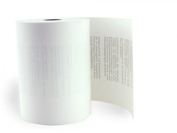 KARO Thermorolle 80/65/12 [50m] Tankstellentext