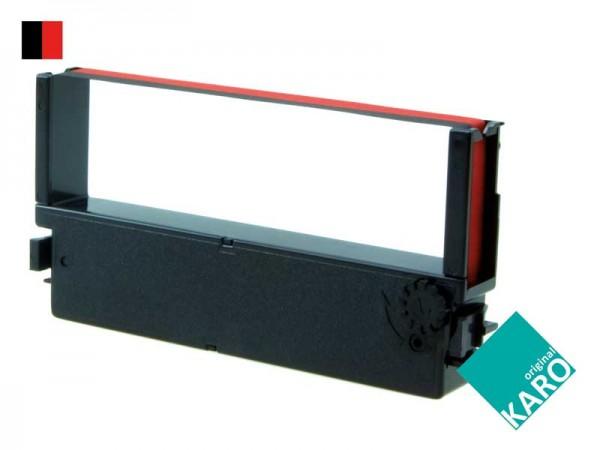 Farbbandkassette IR-41BR [schwarz / rot]