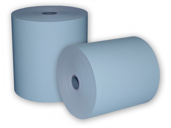 Thermorolle Thermopapier Thermorollen 80 mm KARO original [80m] blau