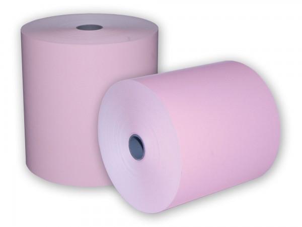 KARO Bonrolle holzfrei 76/67/12 [40m] in rosa